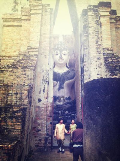 big buddha is watching you...r marriage