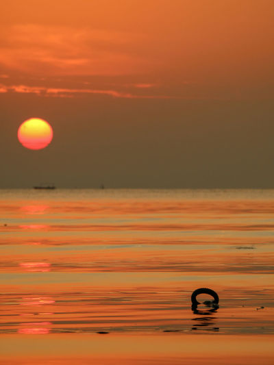 The morning vibes Sunrise_sunsets_aroundworld Sunrise Morning Water Sea Backgrounds Astronomy Nautical Vessel Beach Yellow Gold Offshore Platform Romantic Sky Seascape Tide Horizon Over Water Coast Low Tide