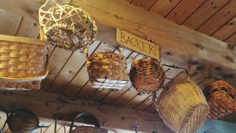 Baskets. Rustic Baskets Wood Woven Baskets Woven Basket Rustic Charm Reed Basket Rustic Home Rustic Style