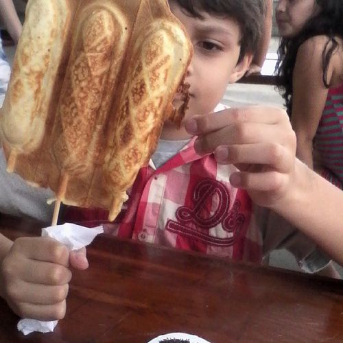 Filho Crepe de Chocolate Kinderplatz