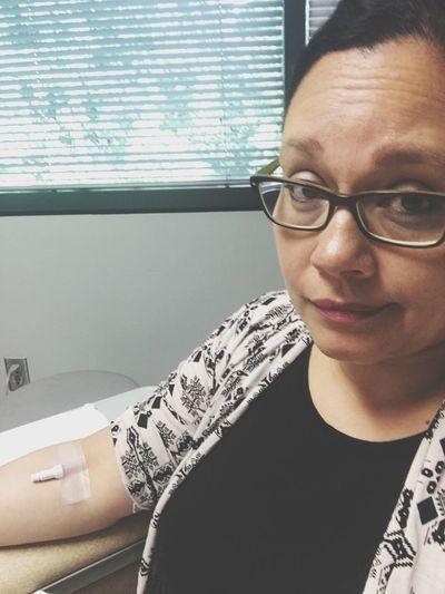Cancerwarrior..time for 3 month check up. Real People Glasses Close-up Cancer Survivor IV Checkup Coloncancer Stage3 Scans Bloodwork Warrior Fuckcancer Imasurvivor Get Screened
