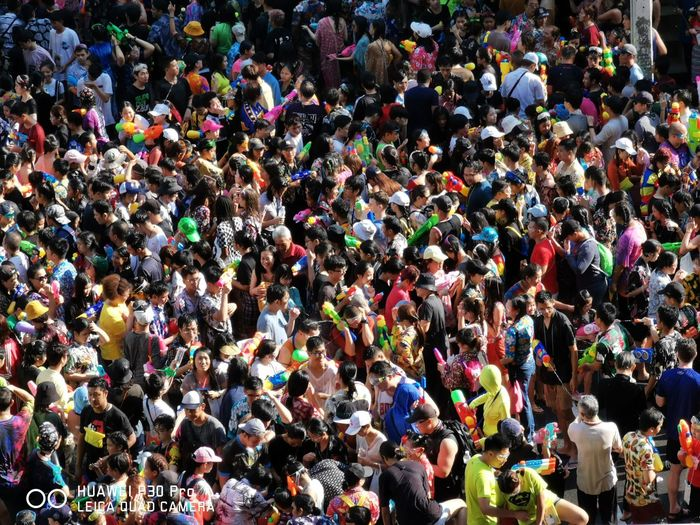Crowd Men Multi