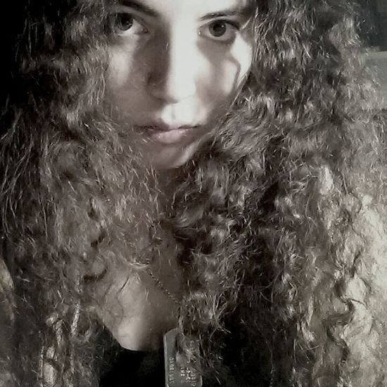 Dark Portrait Model Dark