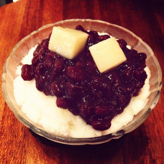"""It's delicious :-) its """"팥빙수"""" Korean Food"""