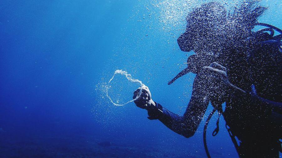 Diving Underwater Adventure UnderSea