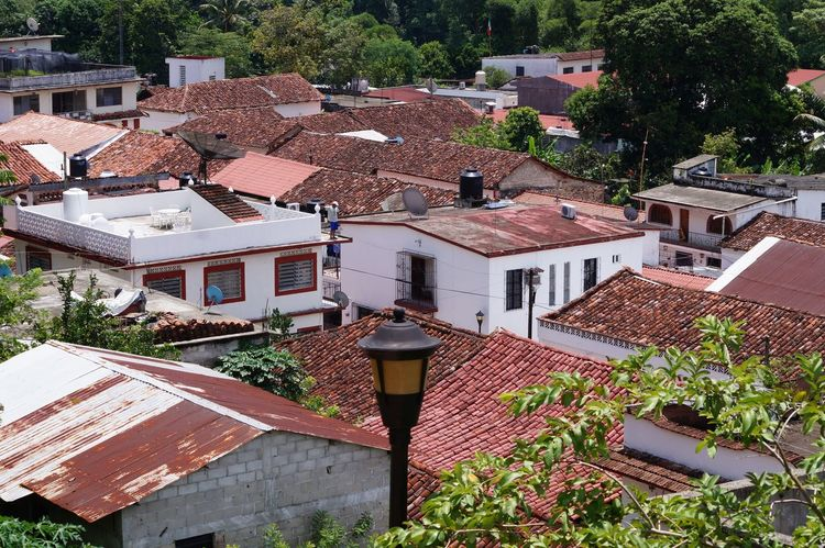#House #pueblomagico #tapijulapa #travelling Architecture Building Exterior Day High Angle View Roof