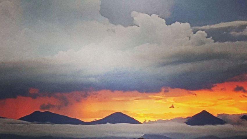 Serra do mar Volcano Mountain Cloud - Sky Outdoors Scenics No People Nature