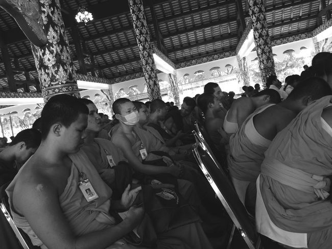 Monks In Temple Buddhist Buddhism Buddha Buddhist Temple