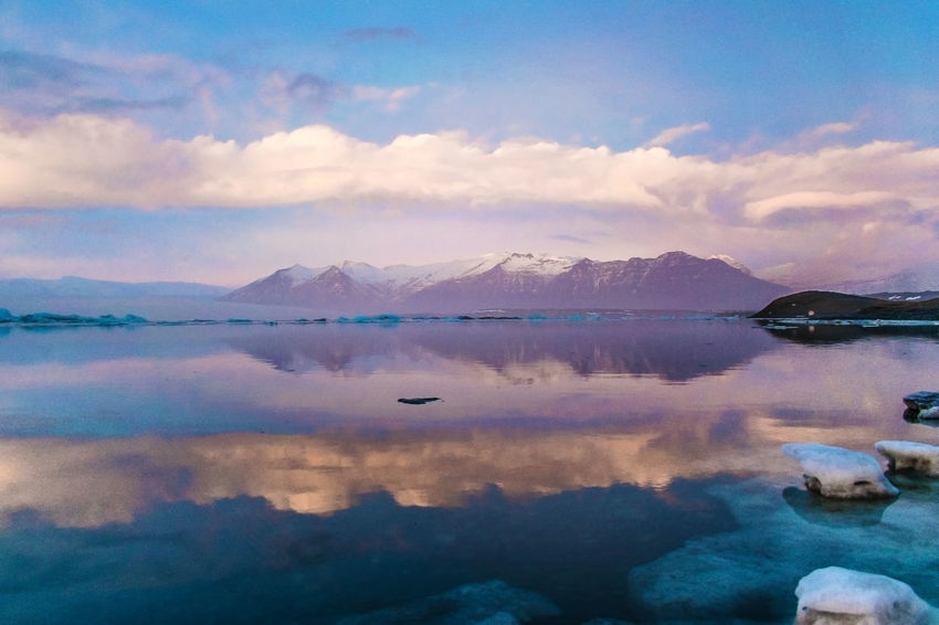 Iceland Iceland Memories Iceland Landscape Scandinavia Water Reflections Beauty In Nature Cloud - Sky Great Landscape Iceberg Iceland Trip Iceland_collection Icelandic Lake Landscape Landscapes Mountain Nature Reflection Ring Road Scenics Sky Tranquil Scene Tranquility Water