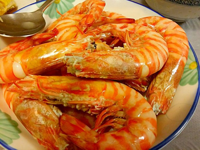 Homemade steamed prawns Yummy Homemade Eyeem Food  Foodporn
