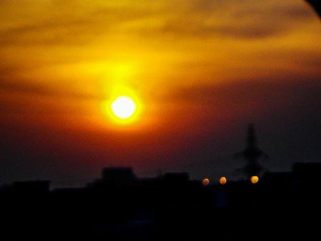 Sunset Sunlight Illuminated