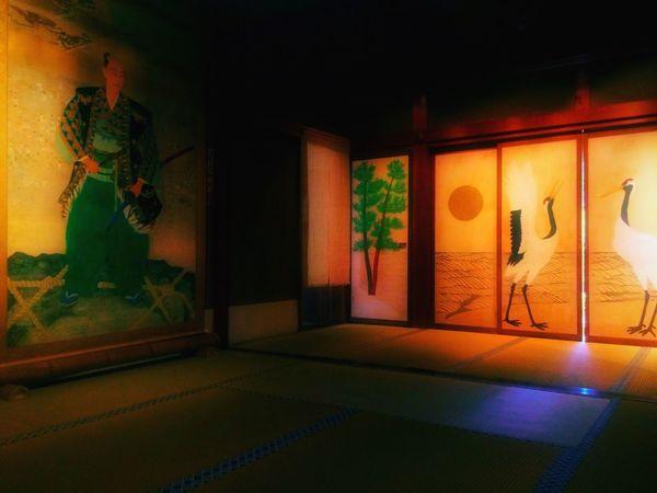Japanese  Light And Shadow Japan IPhoneography Japanese Temple 安土城 摠見寺 織田信長 襖 Interior Design