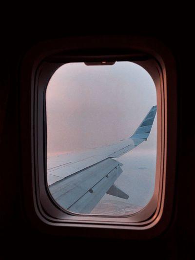 In between skies