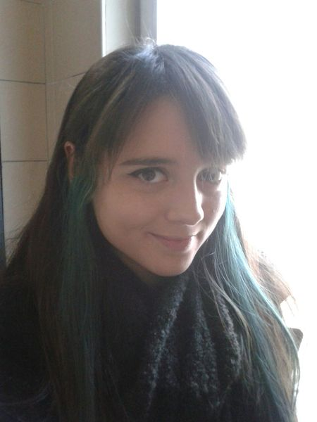 Elf Green Hair That's Me Hello World