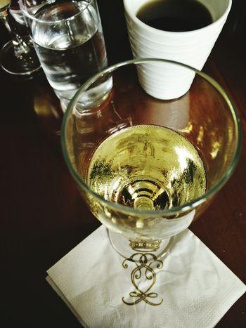 Champagne Relaxing Södertuna Slott Gnesta Sweden Glass Drink