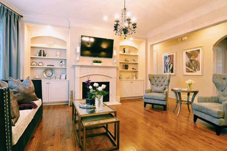 Home Showcase Interior Luxury Living Room Home Interior Chair Elégance Wealth DIY Upper Class Residential Building