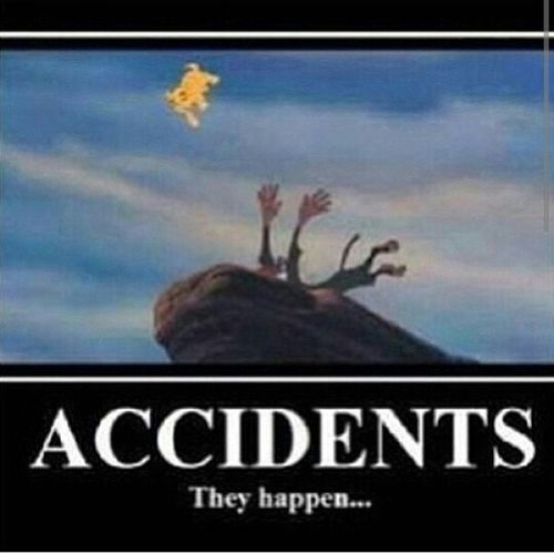 Oh shit Accidents Happen Lionking Ohfuck