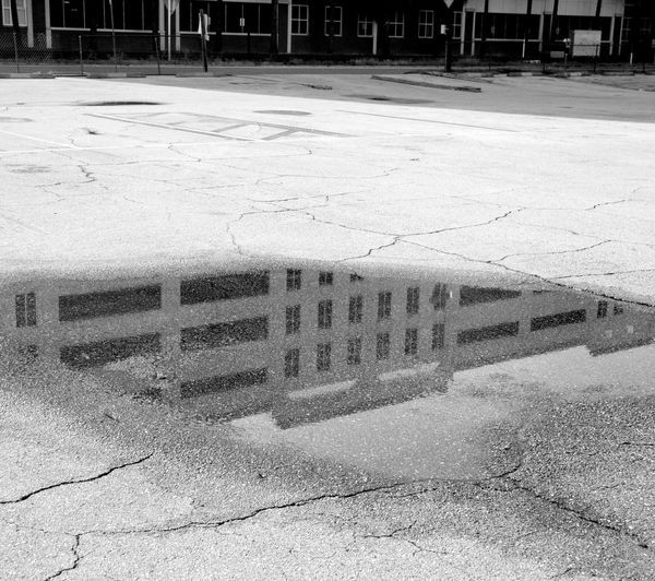 #reflections by: Leonidas Bratini Architecture Black, White & Red Bratini Building Built Structure City City Life City Life Leonidas Outdoors Puddle, Reflection Street, Urban, Water