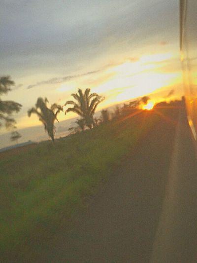 Por do sol brasil.