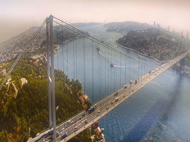 Bosborus Boğaz Köprüsü 15 Temmuz şehitler Köprüsü Fantastic Real Colours Turkey ♡ Birdwatching Trees Peaople No Comment