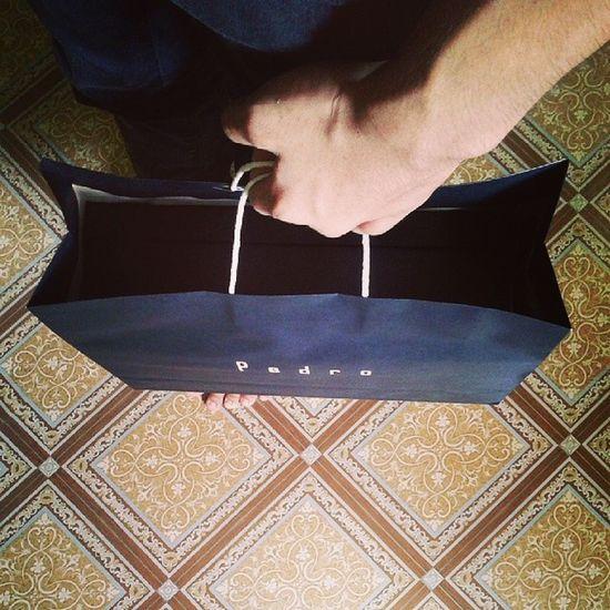 . At last i got my loafer shoes .. . Pedro Pavi Snr Ootd loafer .