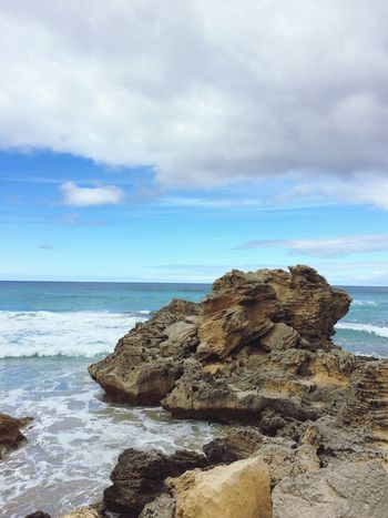 EyeEmNewHere Beauty In Nature Beach Photography Cloud - Sky Rocks Australian Landscape