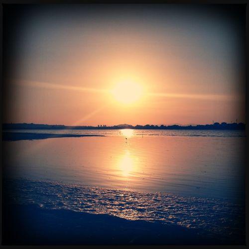 Sunset (Molentargius)