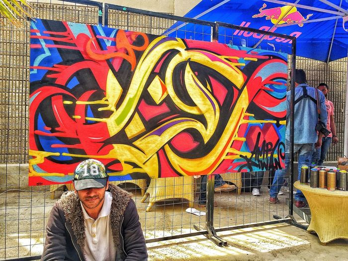 IAmTheWolf RedBull Graffiti Outdoors Lifestyles Casual Clothing Painting Art Comment What You See!