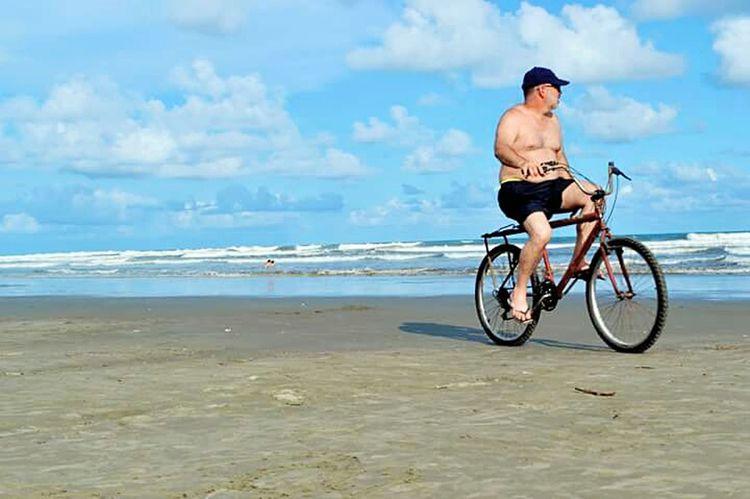 Transport Horizon Over Water Beach People Nature Beach Beauty In Nature Lovephotography  3XSPhotographyUnity 3XSPUnity Adventure Brasil ♥