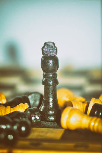 Chess (King wins the game) on vintage background. Success, business strategy, victory, win, winner, intellect, tactics, defeat, beat, knock, checkmate, leader or leadership concept. Conceptual Concept Cover Backgrounds Abstract Vintage Games Leader Leadership Checkmate Defeat Tactics Winner Business Strategy Victory Strategy Intellect Conceptual Photography  Chess Piece Chess Close-up Knight - Chess Piece Board Game Leisure Games Strategy Chess Board King - Chess Piece Game Of Chance Queen - Chess Piece Gambling Chip