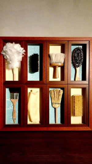 Beautifully Organized Clean Cleaning Dusting Broom Brush Shoeshine Tidy Household Household Objects Household Chores Chores Set Indoors  No People Day Indoors