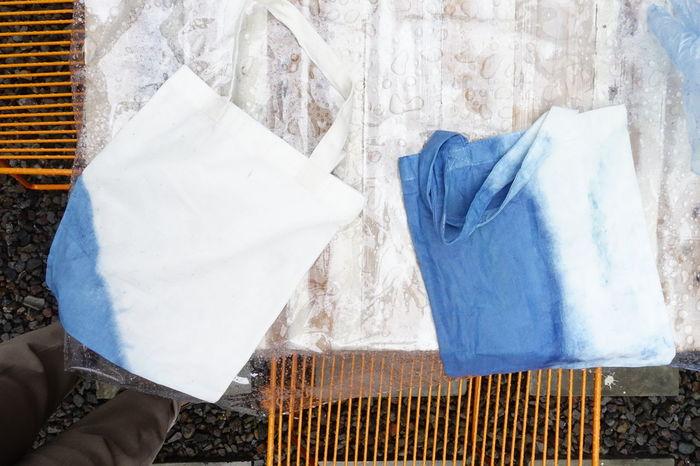 EyeEm Fashion Getty Indigo Dyeing Close-up Shibori Textile Tiedye Totebag