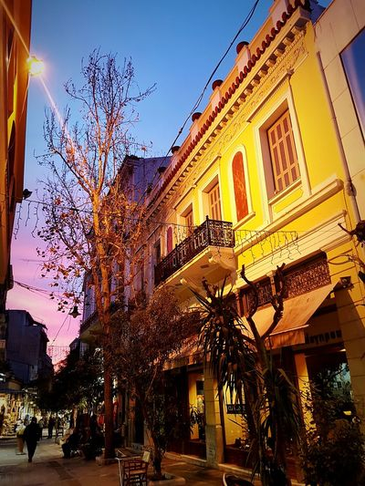 Arts Culture And Entertainment Architecture Outdoors Arch Nature Sky Building Exterior Tree No People Built Structure Beauty In Nature Sunlight History Travel Destinations Tranquility Athens Athens, Greece Athens City Athens By Night Athens Street Photography AthensByNight The Architect - 2017 EyeEm Awards Colour Your Horizn
