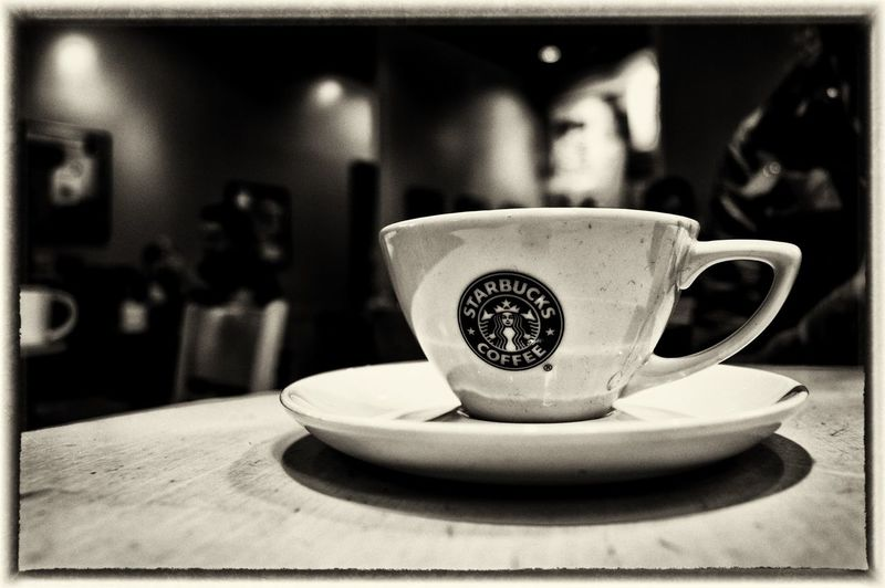 Starbucks a recent flat white Coffee Coffee A Day