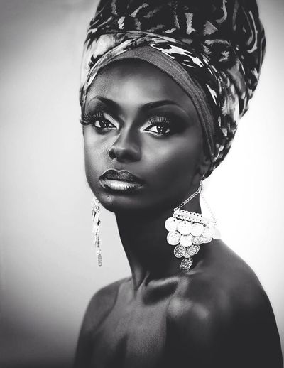 AfricanBeauties Check This Out Blackandwhite