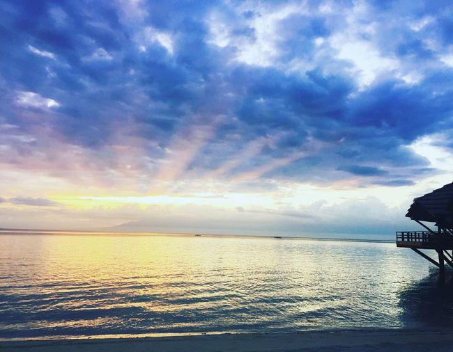 When the sun goes down.. Sunset Beach Godscreation
