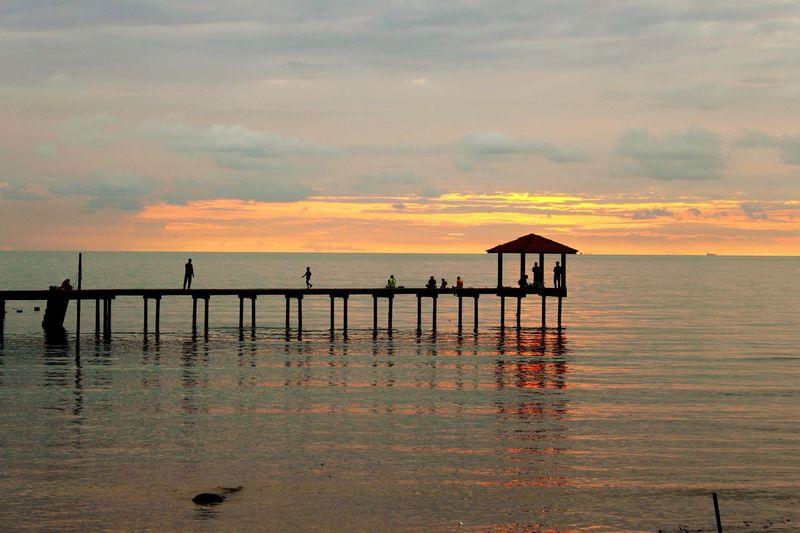 Everyday Joy Sunset Enjoying Life Landscape