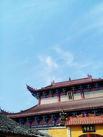 China View Temples Buddhist Temple Hometown Scenery Landscape家乡的城隍庙
