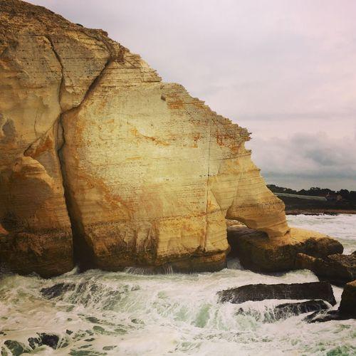 Roshanikra Lebanonborder Israel Israelinstagram Rocks Seascape Sea Winter Landscapes With WhiteWall The KIOMI Collection
