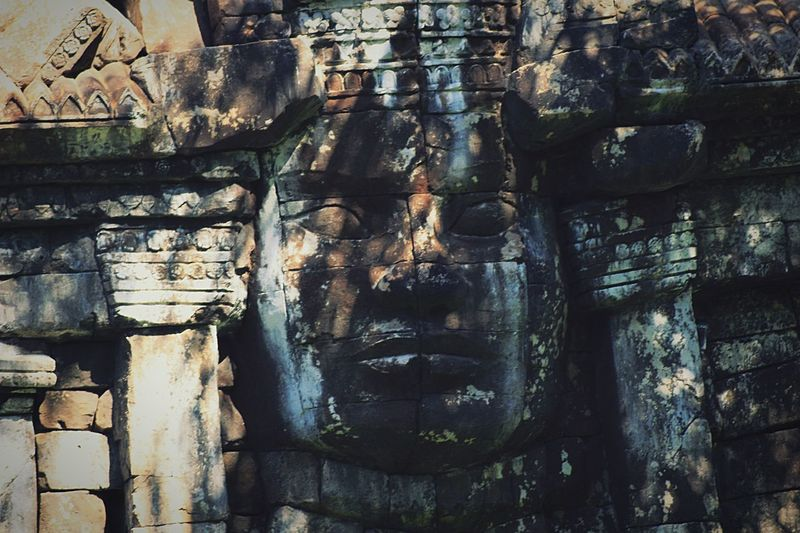 Religion Old Ruin Human Representation Male Likeness Carving - Craft Product Sculpture Place Of Worship Spirituality Architecture Built Structure Travel Destinations Travel Ancient Day Building Exterior No People Ancient Civilization Outdoors