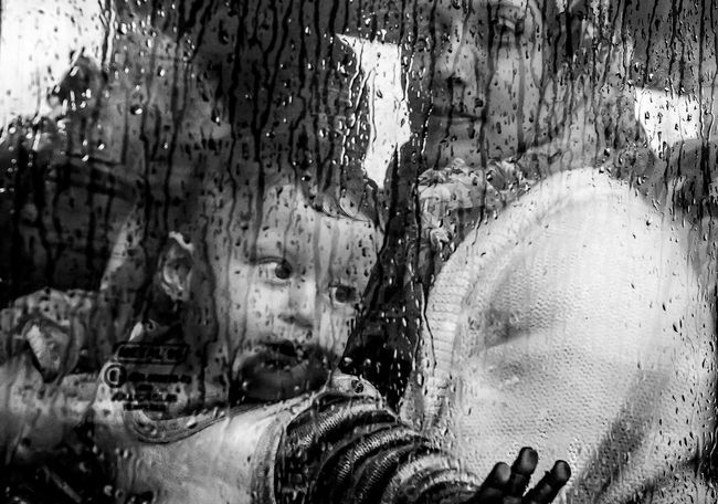 Untold Stories Refugees Helping Refugees Blackandwhite Blackandwhitephotography The Moment - 2015 EyeEm Awards The Photojournalist - 2015 Eyeem Awar Baby Portrait Peoplephotography EyeEm X VII: Untold Stories Winners
