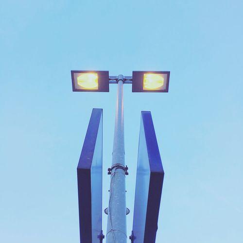 Blue Lantern Urban Architecture Minimalism Abstract Architecture Lanterns