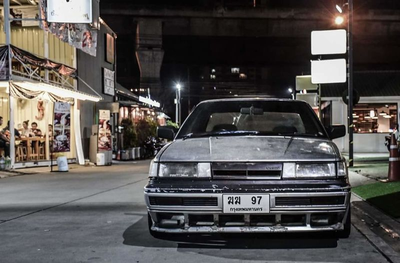 Nissan rz1 Car City Night Architecture Outdoors People Adult