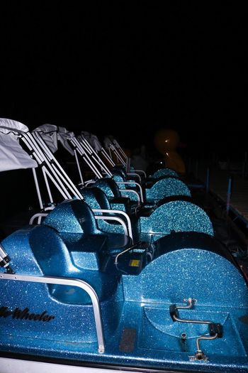 Canon Canon 80D Seat Chair In A Row Empty No People Night Outdoors Boat Boats Nightphotography Star Glitter
