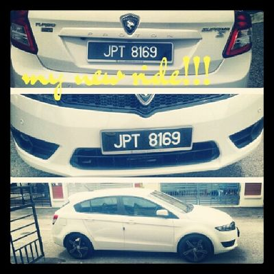 There's a meaning to my car plate no. Myyearnhis Mfarokomar SuprimaS Proton supportlocalcarMY