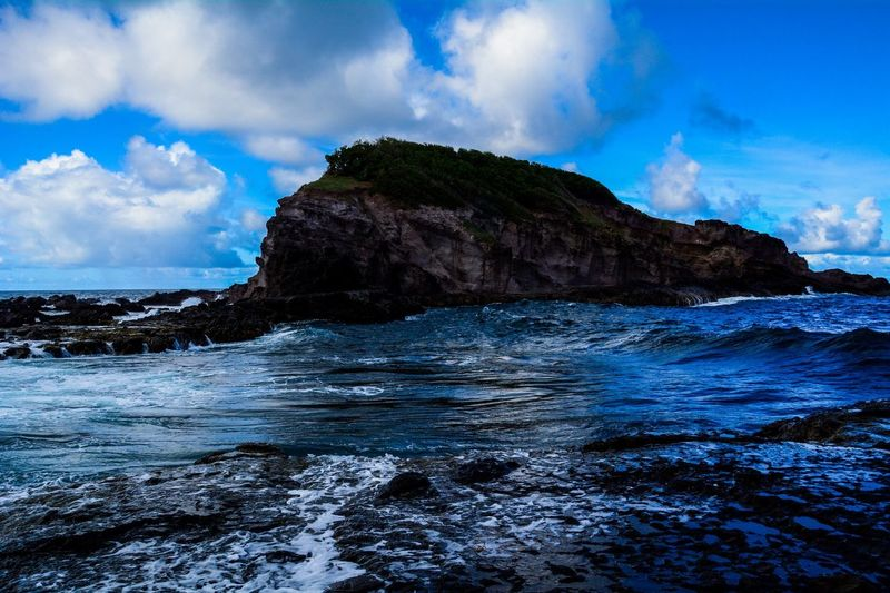 Somewhere a piece of paradise Everything is blue #Seascape #Landscape #Nikon #Photography