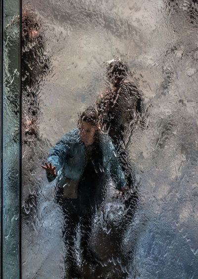 Behind Glass Blurred Background Blurred Motion Blurred Visions People Behind Glass Water Blur, Water, Water_collection, Hello World, Reflection, Water Reflections Waterfall