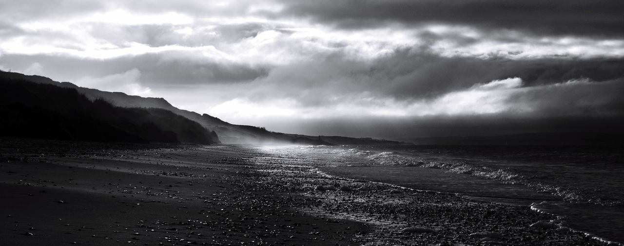 Highcliffecollection] Nikon Beach Highcliffe Beachphotography Blackandwhite Landscape_Collection