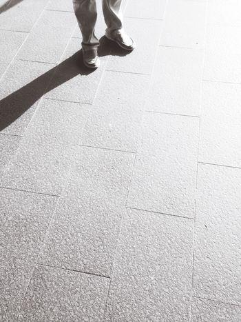 Persimpangan Street Photography Exploring New Ground Jakarta Cityscape Shadows & Lights Morning Light Enjoying The Sun Jakarta As I See It IPhone5 Cityscapes Black And White Black And White Photography