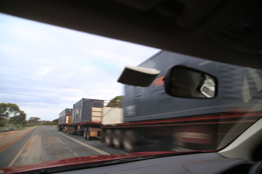 Australia Car Day Mode Of Transport Road Road Train Scary Speed Speeding Transportation West Australia